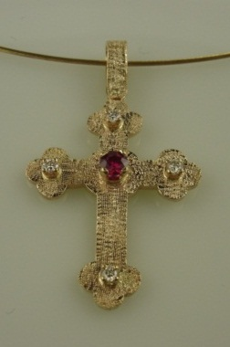 Cross for the Greek Festival