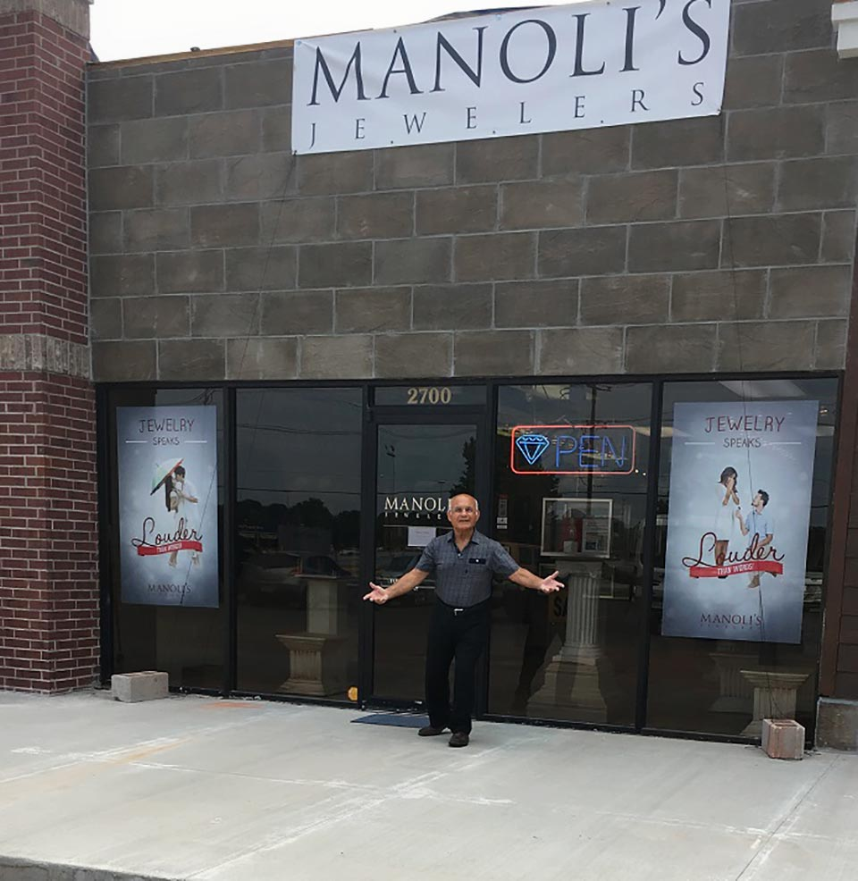 Manolis Jewelers Remodel