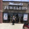 Our sign is up at Manoli's Jewelers